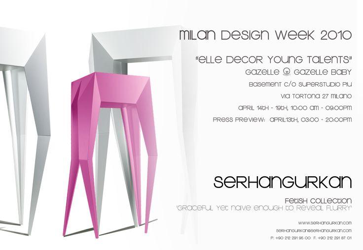 Fetish, Gazele  Multi Purpose, Dressoir, Art Object Milan Design Week