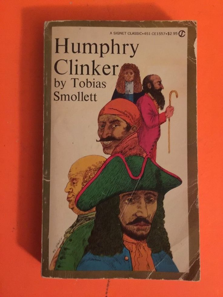 Humphry Clinker, Tobias Smollett, 1960, Paperback     FREE SHIPPING