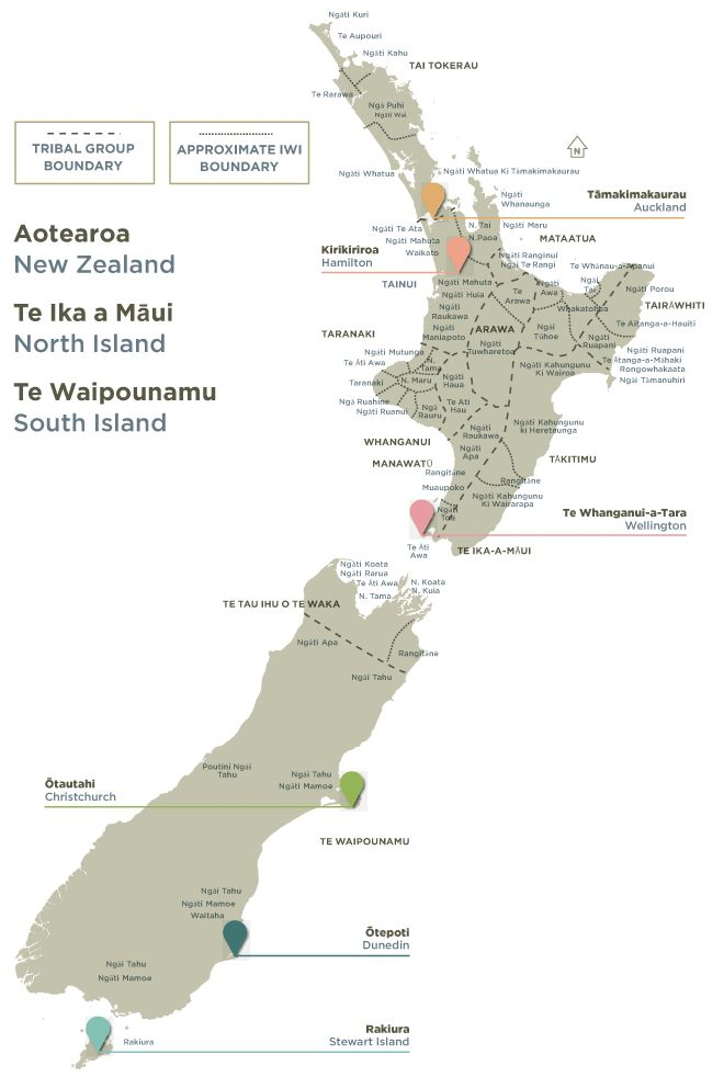 Iwi - Tribes of New Zealand. New Zealand Trade and Enterprise.  Te Kete Tikanga Māori - Māori Cultural Kit (2012).