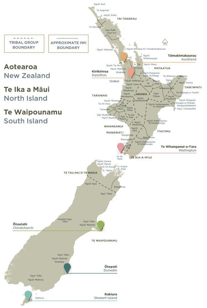 Iwi - Tribes of New Zealand. New Zealand Trade and Enterprise.  Te Kete Tikanga Māori - Māori Cultural Kit (2012).