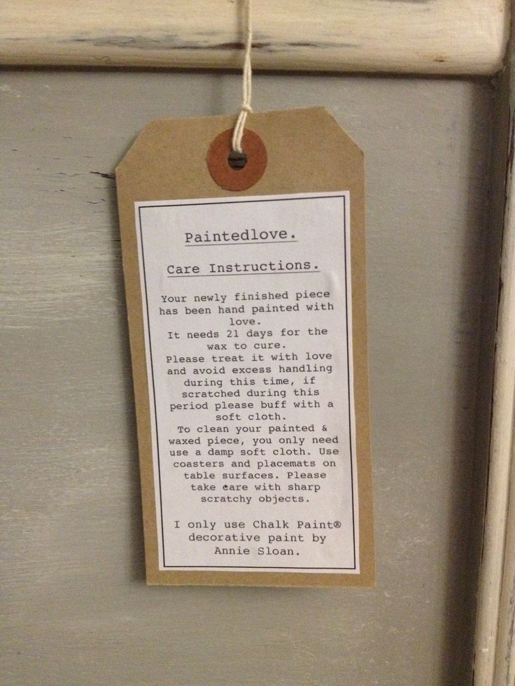 Paintedlove care instructions for Annie sloan furniture. https://www.facebook.com/Paintedlovehomefurniture?ref=hl