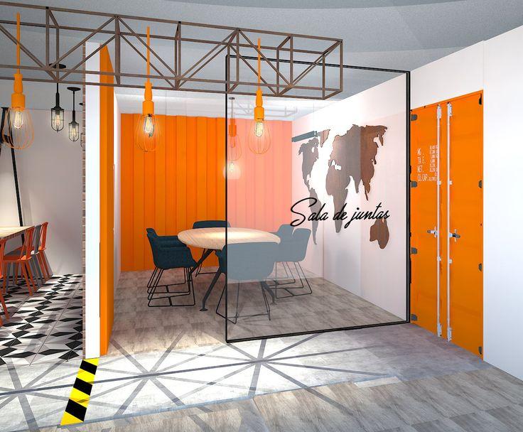 OFICINAS DE ADUANAS [La Coste & Asociados S.A] Diseño - Construcción - Instalación. @tresarquitectos 2017