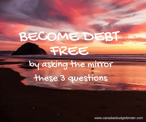 If you wan to become debt free you have to be upfront with yourself like we were before we killed our mortgage and every other debt we had. Here's what you need to do.... http://bit.ly/2dhx2tK