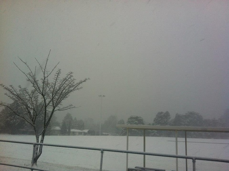 Blackheath Oval ~ minus the Black Cats! No footy being played here today!  Photo by Alan Gregory