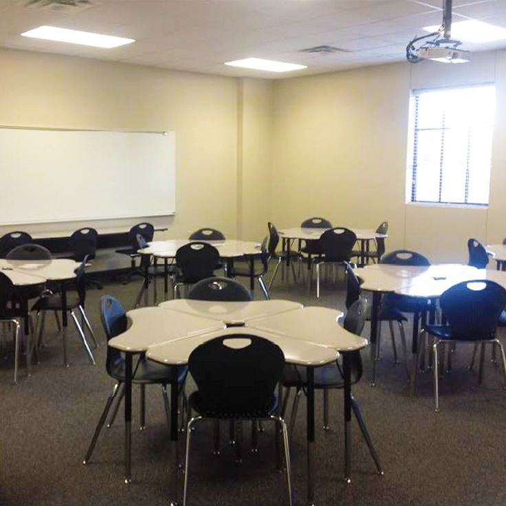 The Innovative Classroom At Wortham ISD In TX Utilizes The Triangular Collaboration  Desks Which Make For Design Inspirations