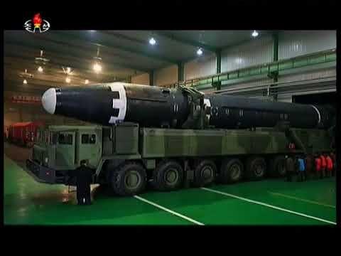 Launch of Hwasong 15 Nov 29