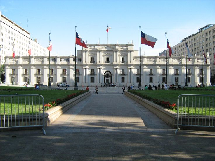 La Moneda. The palace in Chile, Santiago. Brings back so many memories.