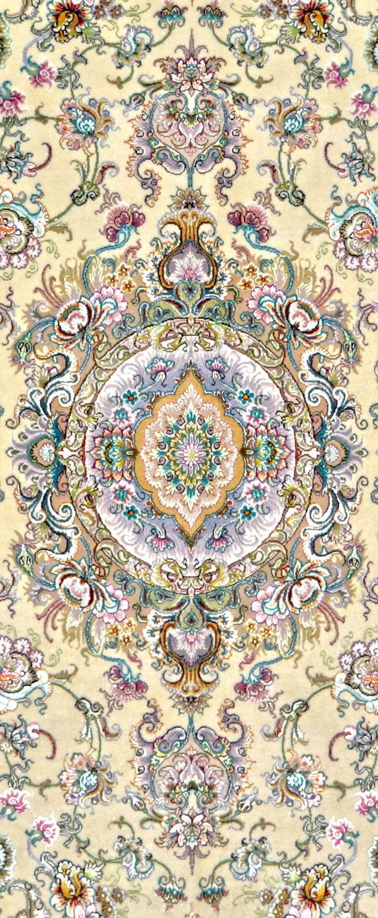 5x7 Tabriz Very Fine Persian Area Rug