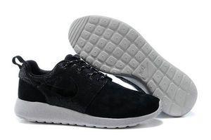 chaussures nike roshe run anti-fur homme (noir/blanc/noir logo) pas cher en ligne en france.