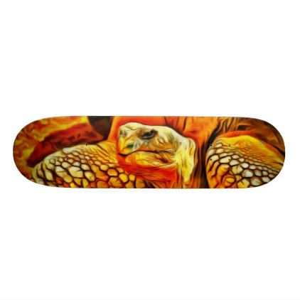 Turtle Skateboard - photography gifts diy custom unique special