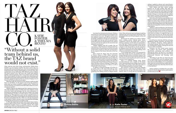 On Venture Cover Magazine