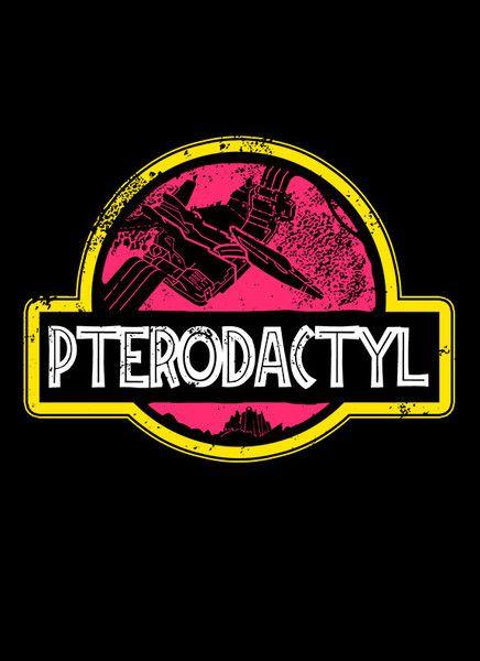 Jurassic Pink Power T-Shirt - Power Rangers T-Shirt is $12.99 today at Pop Up Tee!