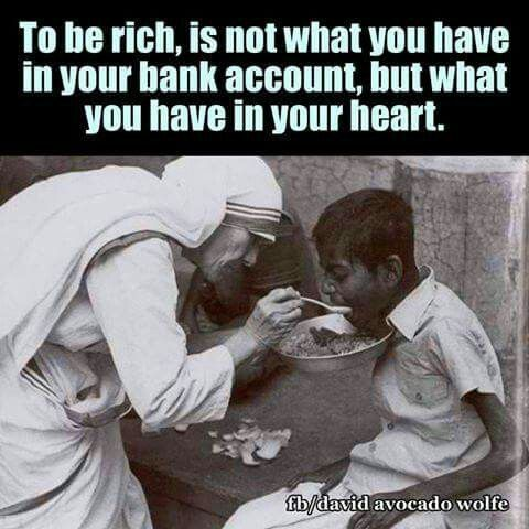 Yes! Love is all that matters and our ability to be of service to others.