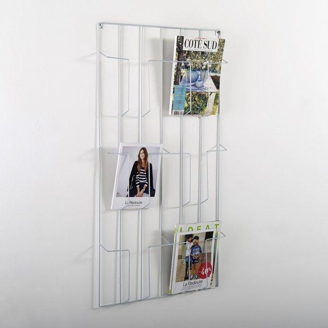 Wonderbaarlijk Magazinehouder om aan de muur te hangen, Niouz (com imagens BU-06