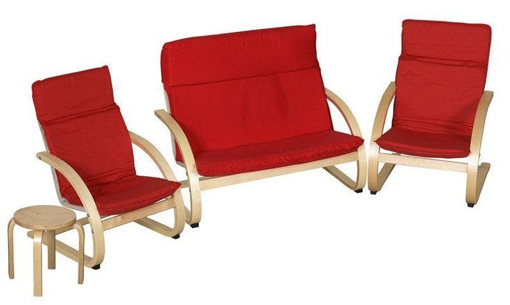 Best Bentwood Comfort Living Room 4 Piece Set – Oxemize Kids 400 x 300