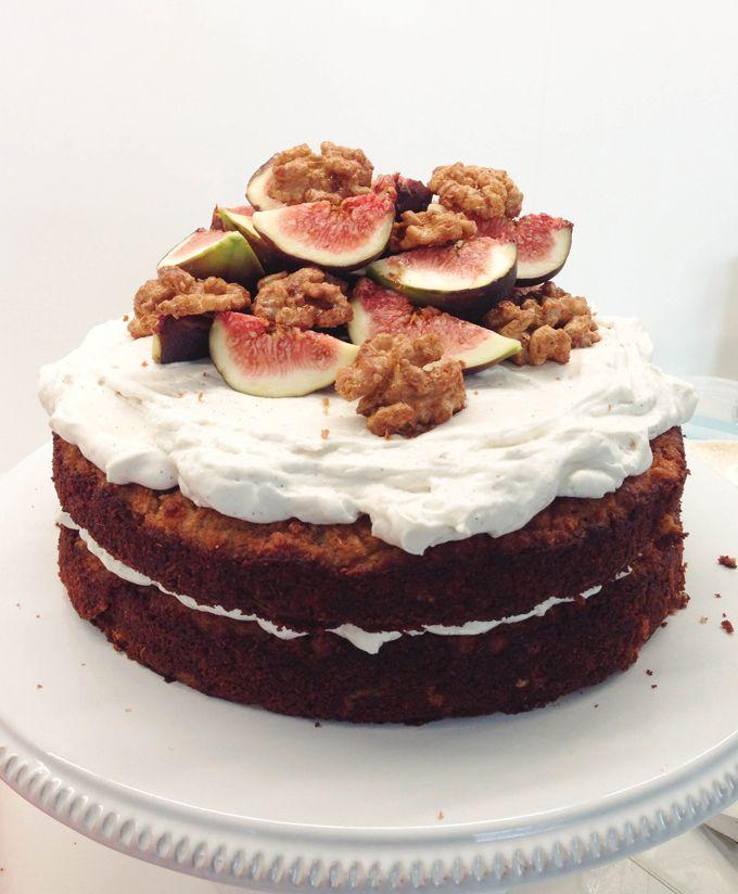 Gluten-Free Apple Spiced Tea Cake. Apple spiced tea cake, layered with ...