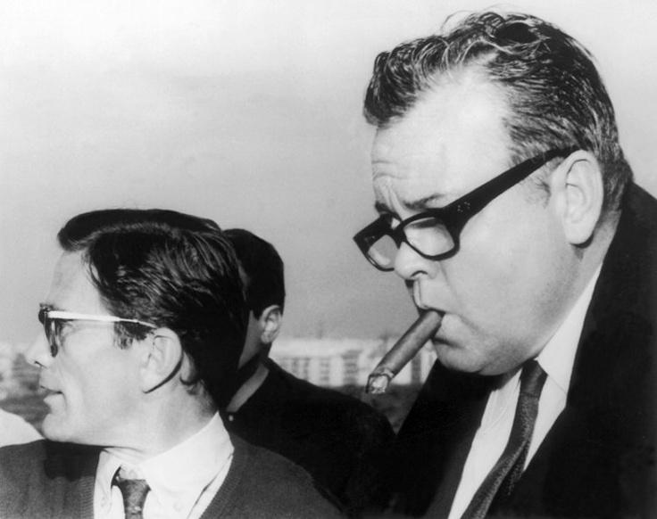 Pier Paolo Pasolini & Orson Welles..che coppia!!