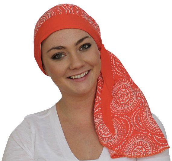 Carlee Pre-Tied Head Scarf - A Women\'s Cancer Headwear, Chemo Scarf ...
