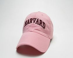 TheCoop Store - Women's Fit pink hat with Harvard arched. Adjustable back - Women's Apparel & Hats
