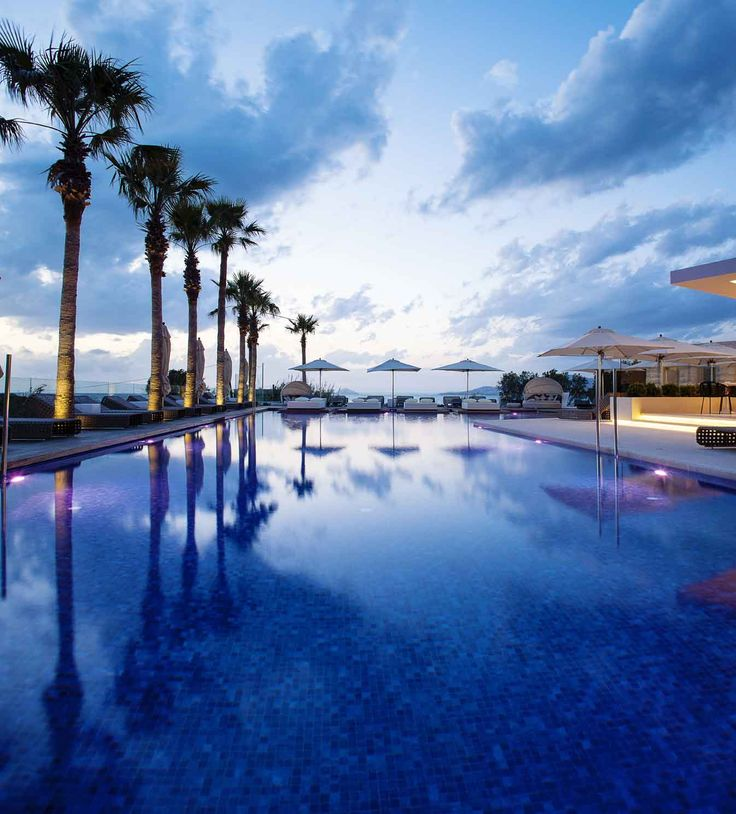 Sit by #AquaBlu Boutique Hotel's #pool in #Kos #island #Greece and forget about the routine and whatever may stress you.http://www.tresorhotels.com/en/hotels/22/aqua-blu#content