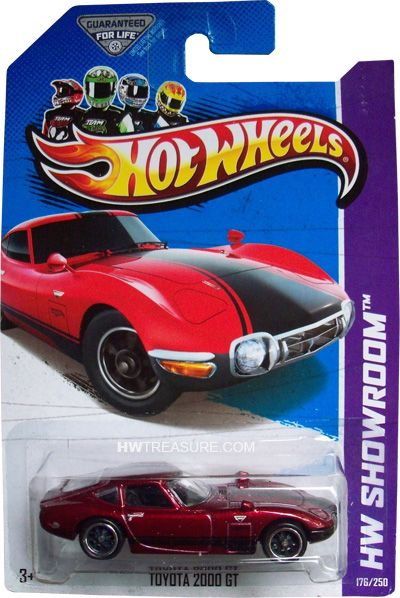 2013 Hot Wheels Super Treasure Hunts Toyota 2000 GT (D case)   Hot Wheels 2013 Super Treasure