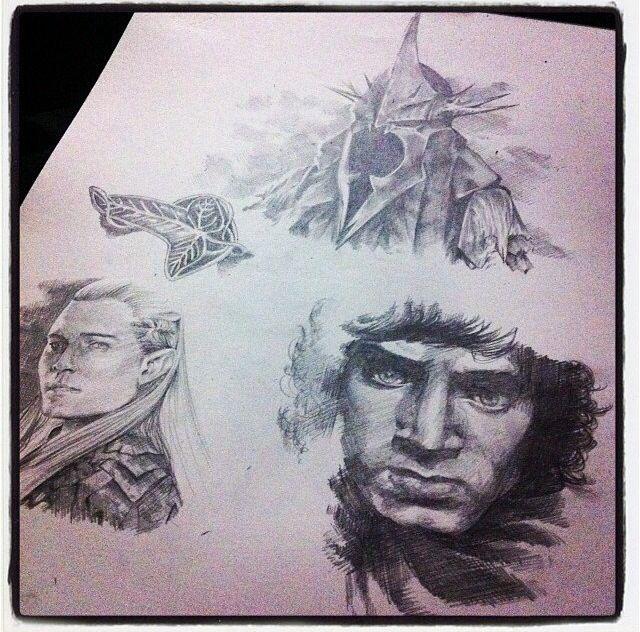 LotR sketches