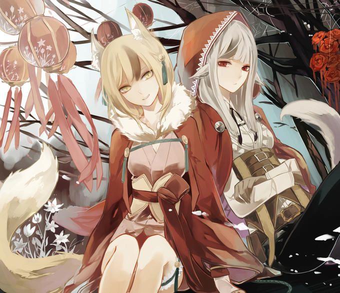 Fire Emblem Fates/If - Kinu and Velour