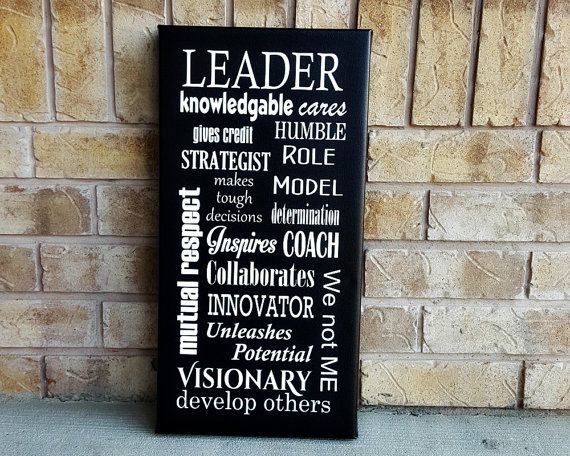 Gift for Boss  Leadership Character  Canvas Art by TimelessNotion                                                                                                                                                                                 More