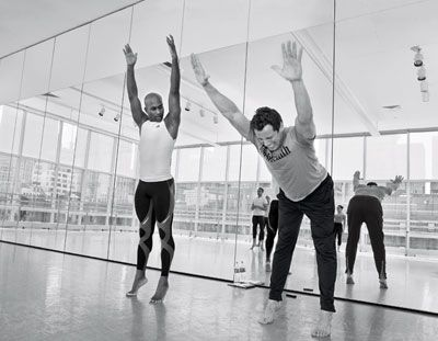 BUILD your body with ballet. Our extreme-fitness investigator goes toe-to-toe with Alvin Ailey's dancers to learn how they develop world-class jumping power, insanely strong cores, and outrageous flexibility.