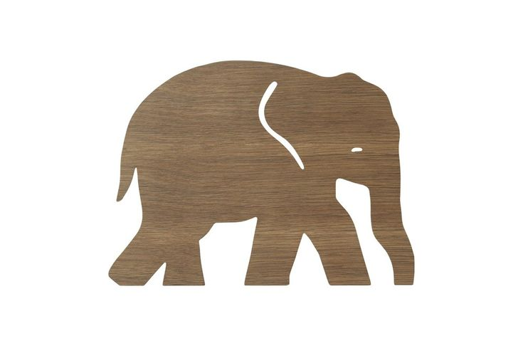 """Lampe """"Elefant"""", smoked oak Kinderzimmer Kinder zimmer"""