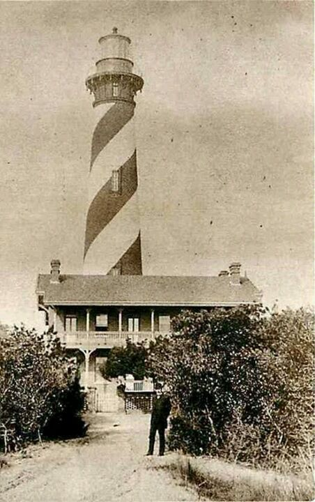 St. Augustine Lighthouse 1885