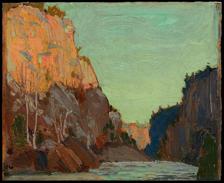 Tom Thomson, Petawawa, Algonquin Park, 1916 - Art Gallery of Ontario | West Wind