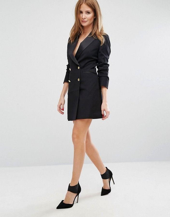 Millie Mackintosh Cecille Tuxedo Dress on ShopStyle