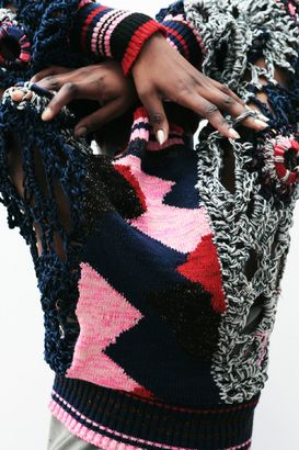 crochet and intarsia