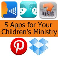 5 Free Apps for Your Children's Ministry