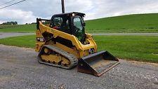 2015 Caterpillar 259D Compact Tracked Skid Steer Loader Diesel Cat 2 Speed Cat skid steer loaders - construction equipment - equipment financing - heavy machinery