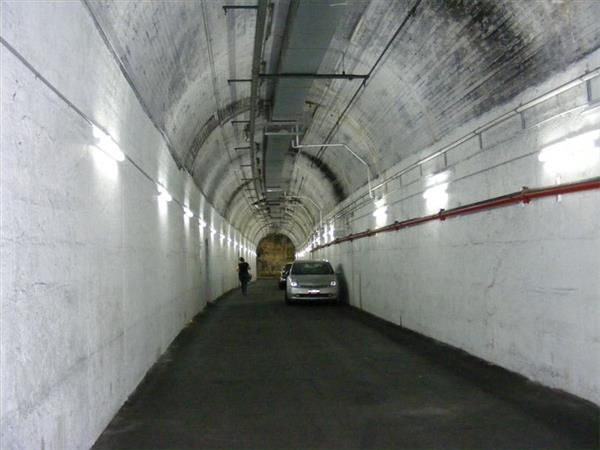 Wynyards old Tram Tunnels (now a carpark)