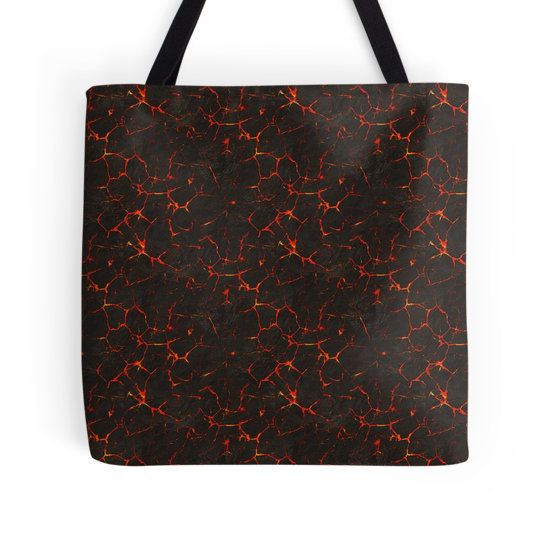 Breaking Lava Tote Bag - Available Here: http://www.redbubble.com/people/rapplatt/works/17769834-breaking-lava?p=tote-bag