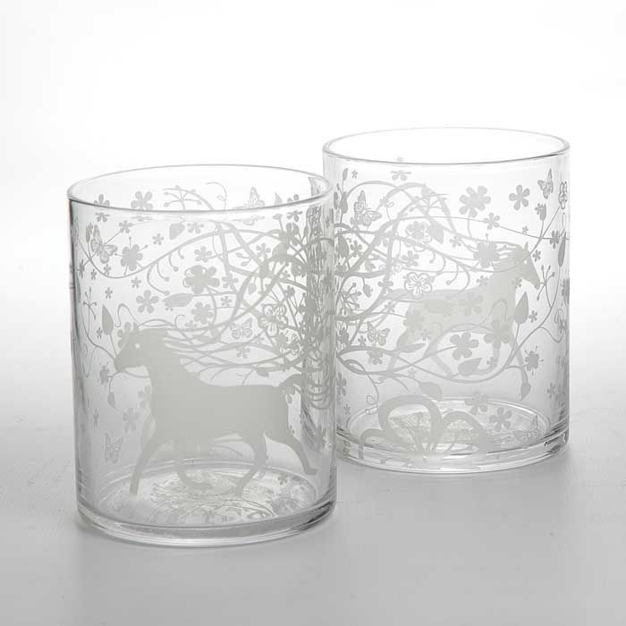 TABLE STORIES Whisky Glass Twin Set by Tord Boontje
