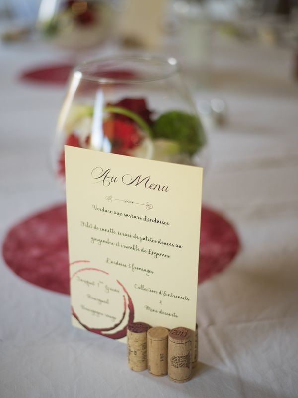 Wedding on the theme of wine from which the absence of - The creations of MiMou - # creations #of # of #labsence