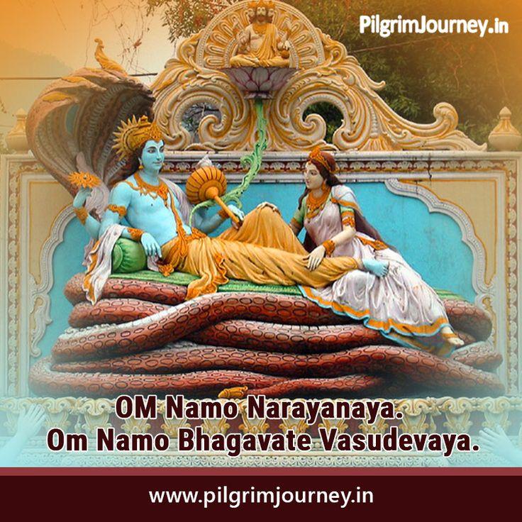 Most powerful Mantra to change your life Om Namo Bhagavate Vasudevaya Namah' is a mantra of Vishnu and Krishna both...@pilgrimjourney.in #Blessings #Pilgrimjourney #powerfulmantra