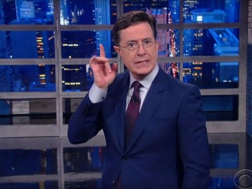 "Stephen Colbert wants to make sure you never, ever confuse 'LoTR""s Smeagol and Gollum"