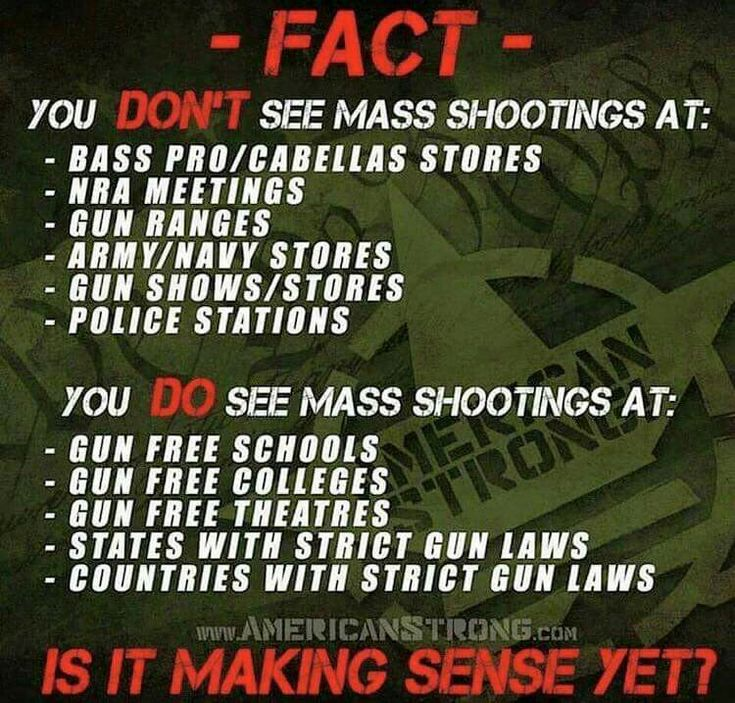 It seems to make sense to everyone, except for the lying politicians, and lying anti-gun lobbyists. Ironic..