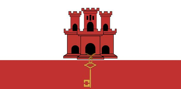 Country Flags: Gibraltar Flag