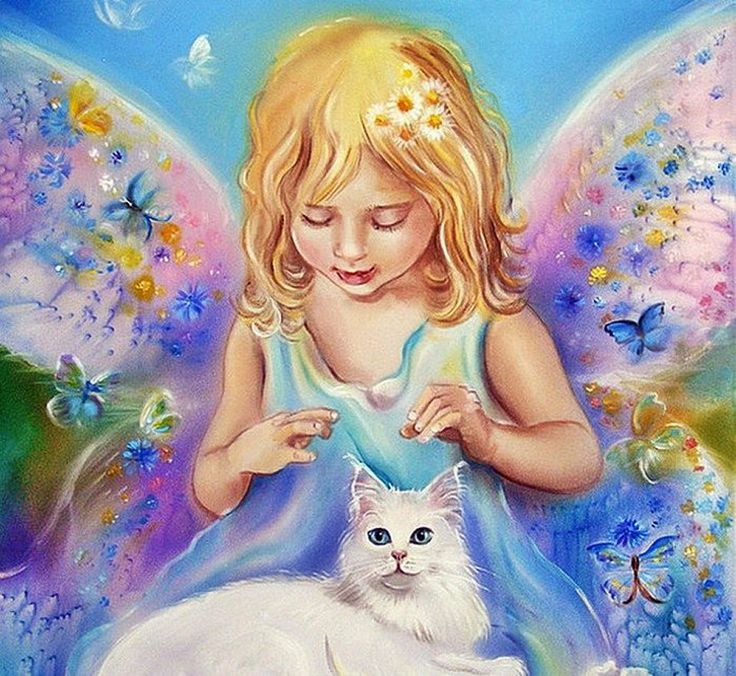 Картинки феи кошки