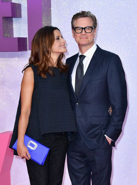 "Colin Firth Photos Photos - Livia Giuggioli and Colin Firth attend the ""Bridget…"