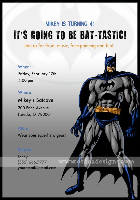 300 best holy birthday party batman images on pinterest batman bat tastic batman birthday invitations by detaileddiva on etsy pronofoot35fo Gallery