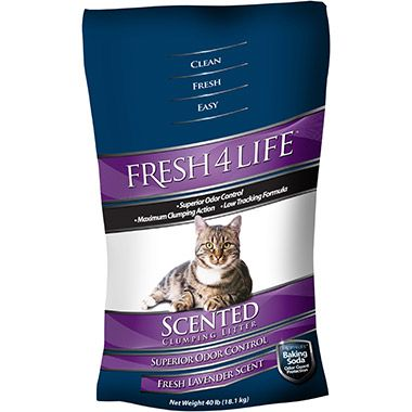 Clumping Clay Scented Litter