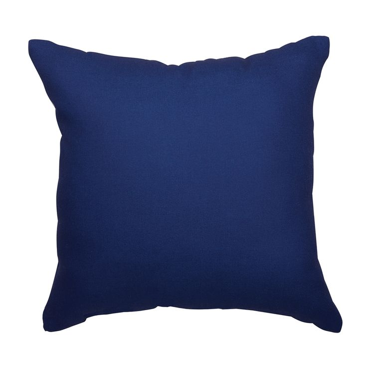 Shop Garden Treasures Solid Navy Blue Outdoor Throw Pillow At Loweu0027s  Canada. Find Our Selection