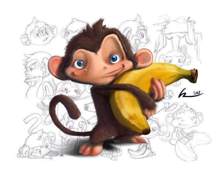 25+ Best Ideas About Cartoon Monkey On Pinterest